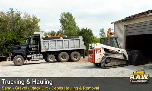 Southern Minnesota Trucking & Hauling - Raw Construction